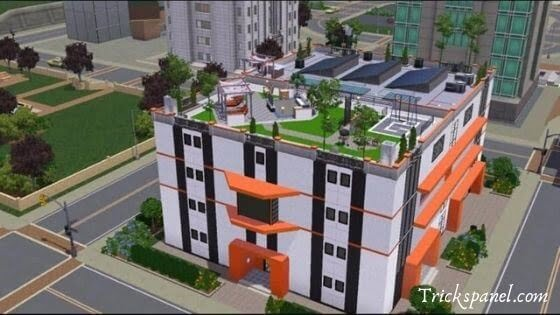 Apartment sims3 Mod