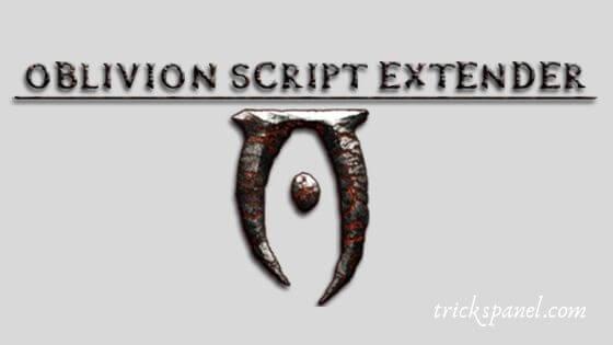 Oblivion Script Extender