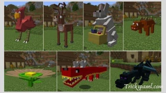 Animal-Bikes Minecraft mod v1.17